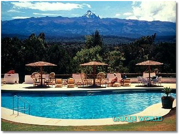 5* Mount Kenya Safari Club