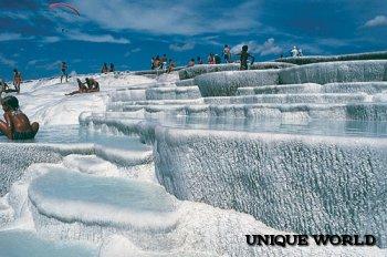 Природное турецкое чудо – Памуккале
