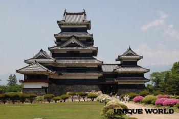 Сокровище Японии – замок Мацумото