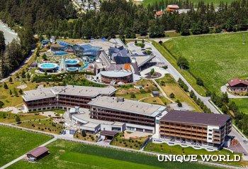 Aqua Dome – роскошный термальный курорт Австрии