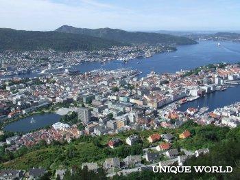 В Бергене открылся Пряничный город