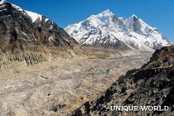 Гималайский ледник Ганготри