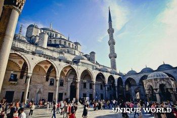 Визитная карточка Стамбула – Голубая мечеть
