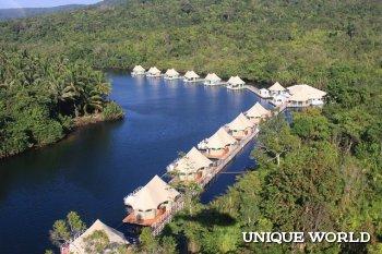 Камбоджийский отель 4 Rivers Floating Lodge