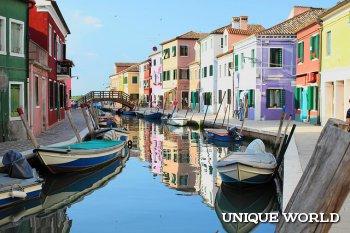 Незабываемый отдых в Италии на острове Бурано