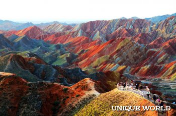 Уникальные горы Китая