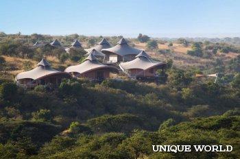 *Экологичный отель Mahali Mzuri в Кении