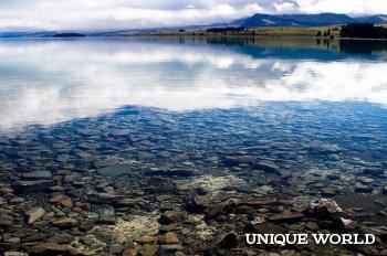 Рай для фотографов - озеро Текапо