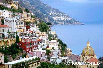 **Амальфи - живописный итальянский городок с видом на Неополитанский залив
