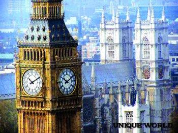 **Манящая красота туманного Лондона