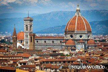 Достопримечательности Флоренции: Санта-Мария-дель-Фьоре, Понте Веккьо, Уффици