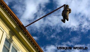 Памятник Зигмунду Фрейду в Праге