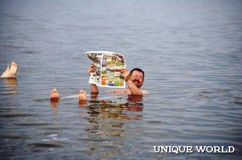 Удивительное озеро Тус