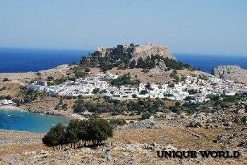 Греческие острова: Родос, Закинф, Парос