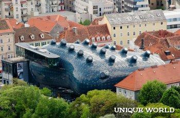 Музей Кунстхаус в Граце