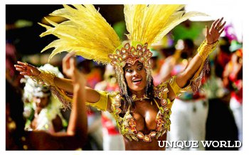 Карнавал в Рио: самое красочное зрелище в мире