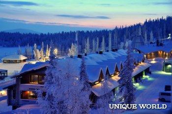 Горнолыжные курорты Финляндии