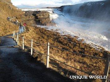 Золотой водопад Гюдльфосс