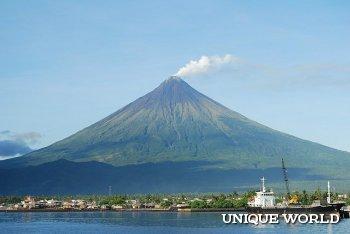 **Филиппинский вулкан Майон