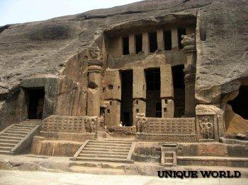 Индия: пещеры Канхери