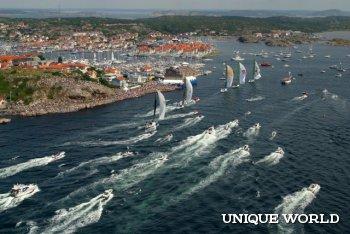Под парусом в водах Швеции